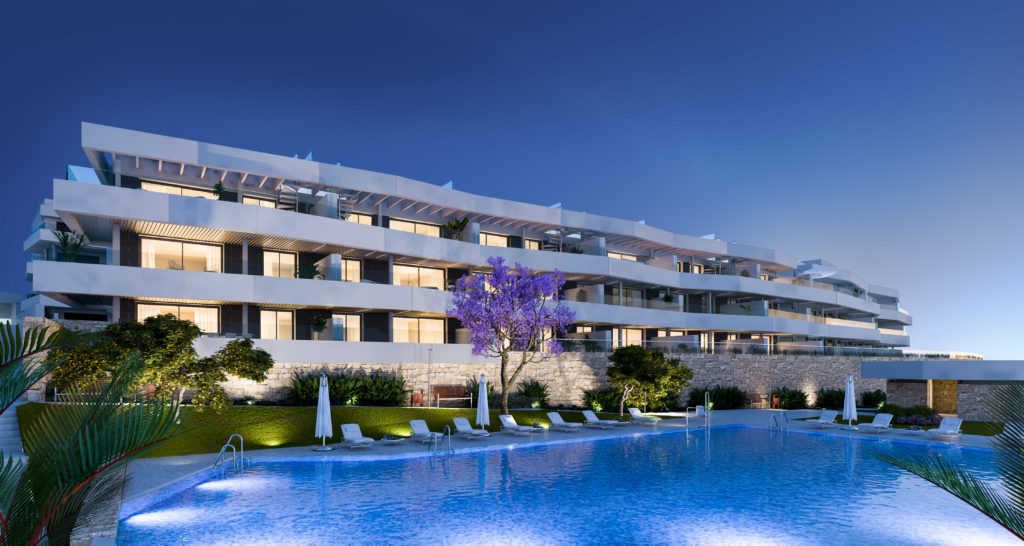 2 BEDROOM APARTMENT IN ESTEPONA GOLF - mibgroup.es
