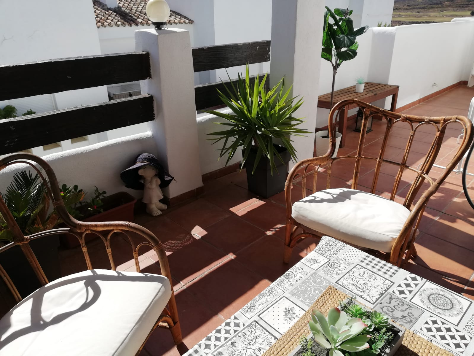 2 bedroom penthouse in Valle Romano opposite the golf course for rent - mibgroup.es
