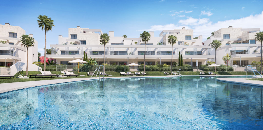 2 BEDROOM APARTMENT FROM NEW GOLDEN MILE - mibgroup.es
