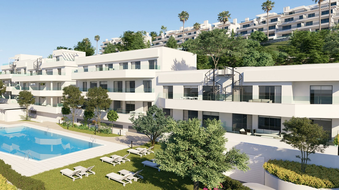 Two Bedroom Apartment in New Golden Mile Golf - mibgroup.es