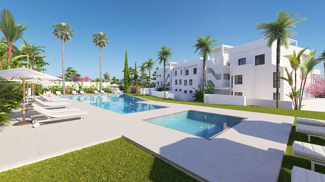 Two Bedroom Apartment in  Boutique Residential Сomplex of  Estepona - mibgroup.es
