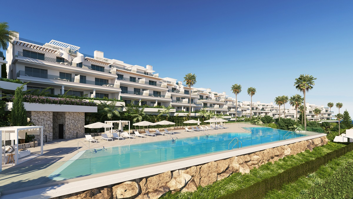 Seaview Two Bedroom Apartment in Estepona - mibgroup.es