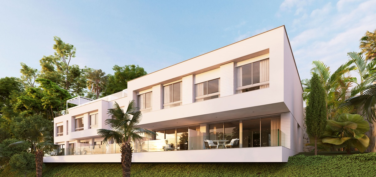 Town homes&apartments collection in Estepona - mibgroup.es