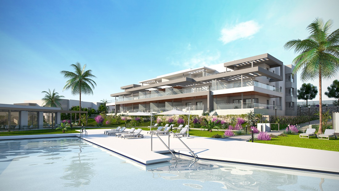 Two bedroom apartment in Estepona Golf Area - mibgroup.es