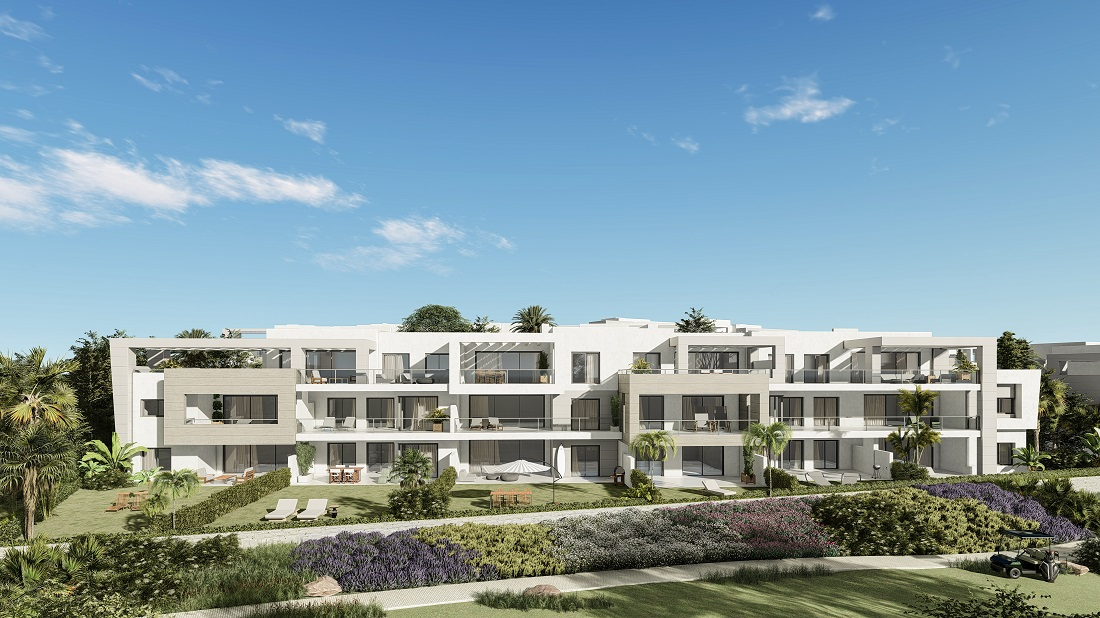 Two Bedroom Apartment in Casares Golf II - mibgroup.es