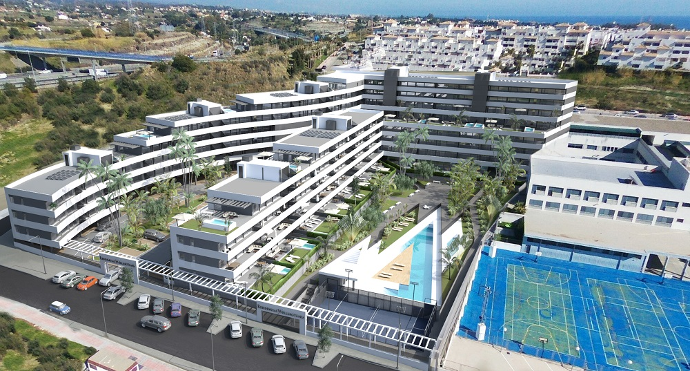 Two bedroom apartment in Estepona Orchidarium - mibgroup.es